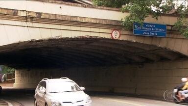 Falta de manutenção põe em risco outros viadutos de São Paulo - A maior cidade do país tem 185 viadutos e pontes, muitos em péssimo estado de conservação