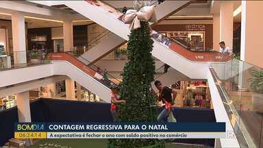 Comércio se prepara para vendas de Natal - A expectativa é fechar as vendas com saldo positivo no comércio.
