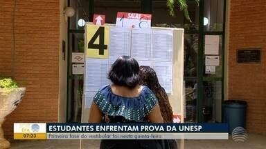 Vestibular da Unesp movimenta três campi na região de Prudente - Ao todo, são oferecidas 7,3 mil vagas para cursos na universidade.