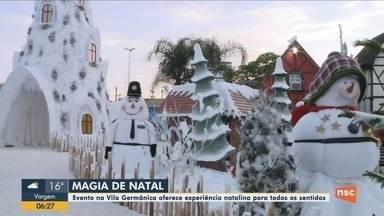 Evento Magia de Natal oferece experiência natalina em Blumenau - Evento Magia de Natal oferece experiência natalina em Blumenau