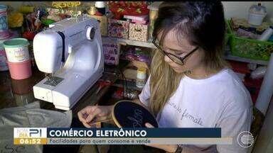 Comércio eletrônico traz facilidades para quem consome e vende - Comércio eletrônico traz facilidades para quem consome e vende