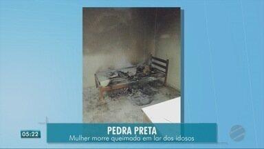 Uma mulher morreu durante um incêndio que atingiu o lar dos idosos em Pedra Preta - Uma mulher morreu durante um incêndio que atingiu o lar dos idosos em Pedra Preta