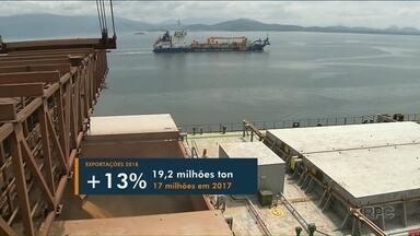 Exportações aumentam 13% no Porto de Paranaguá em 2018 - Coluna Agro tem ainda outros destaques do campo paranaense.