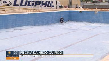 Começam as obras de recuperação da piscina na Passarela Nego Quirido em Florianópolis - Começam as obras de recuperação da piscina na Passarela Nego Quirido em Florianópolis