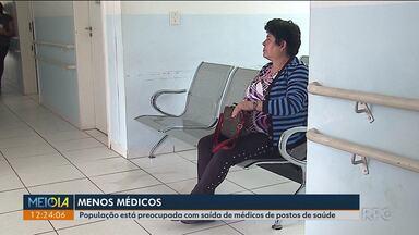 População está preocupada com saída de médicos de postos de saúde - A preocupação veio após o anúncio da saída de cubanos do programa Mais Médicos.