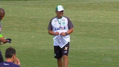 Técnico Ney Franco mantém estrutura tática para jogo decisivo do Goiás - Mesmo sem Lucão, treinador irá escalar equipe com três atacantes diante do Oeste.