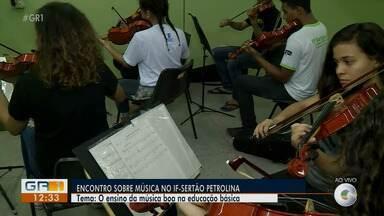 Encontro de Educação Musical do Vale do São Francisco começa na segunda-feira (19) - Também será realizado o Fórum Permanente de Ensino de Música na Educação Básica.