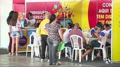 Seja Digital promove 'Feirão Digital' em Caruaru - Ação tem como objetivo facilitar o acesso da população aos equipamentos que possibilitam que televisores antigos recebam o sinal digital.