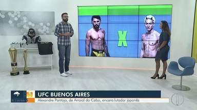 Representantes do interior do Rio lutam no UFC neste fim de semana - Alexandre Pantoja, de Arraial do Cabo, encara lutador japonês