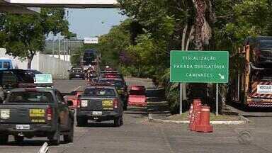 Cidades do RS recebem reforço na segurança para o verão - São 42 policiais da Força Nacional que atuam a partir desta sexta-feira (16) em Uruguaiana e Santana do Livramento.