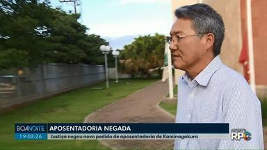 Ex-servidor Ossamu Kaminagakura entra com novo pedido para tentar a aposentadoria - O processo de aposentadoria foi suspenso pela prefeitura de Londrina.