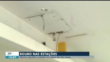 Aparelhos de ar condicionado são furtados de estações de ônibus em Teresina - Aparelhos de ar condicionado são furtados de estações de ônibus em Teresina