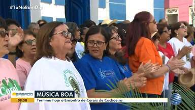 Encontro de corais reúne jovens e adultos em Santo Amaro da Purificação - O evento acontece neste fim de semana.