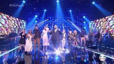 Tiago Abravanel canta com os popstars - Eles levantam a plateia cantando ´O Descobridor dos Sete Mares´