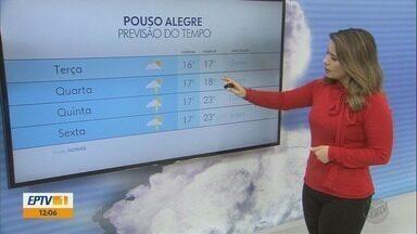Confira a previsão do tempo para esta terça-feira (20) no Sul de Minas - Confira a previsão do tempo para esta terça-feira (20) no Sul de Minas