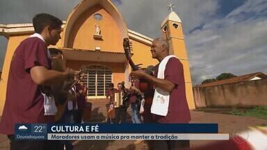 Série exibida pelo MG1 mostra valorização da música em Cachoeira Dourada - Moradores e musicistas se destacam na cidade das famosas águas termais.