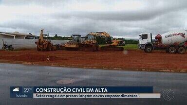 Construção civil reage e apresenta crescimento no Triângulo Mineiro e Alto Paranaíba - Sindicato comenta fatores que mantiveram setor aquecido neste ano. Estimativa é de 12% de crescimento.