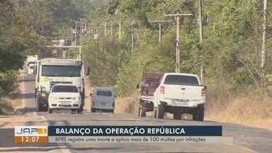Mais de 1 mil motoristas são abordados nas estradas estaduais do AP no feriadão - Números divulgados pelo BPRE são referentes ao feriado da Proclamação da República, entre os dias 15 e 18 de novembro.
