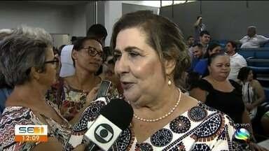 Vice-prefeita de Itabaiana toma posse na cidade - Ela assume no lugar de Valmir de Francisquinho que está preso desde o dia 7 de novembro.