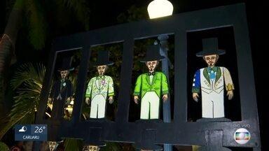 Homem da Meia-Noite ganha esculturas em ruas do Grande Recife - Calunga é um dos principais símbolos do carnaval de Olinda e de Pernambuco.
