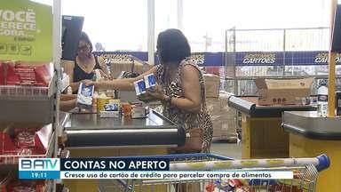 Baianos parcelam compras de supermercado para tentar driblar a crise econômica - Apesar da comodidade, é preciso ter cuidado para evitar juros e não comprometer ainda mais o orçamento doméstico.