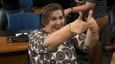 Carminha Mendonça toma posse como prefeita de Itabaiana - Solenidade foi feita nesta terça-feira (20).