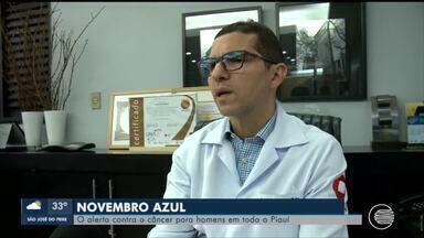 Campanha Novembro Azul alerta contra o câncer para homens - Campanha Novembro Azul alerta contra o câncer para homens