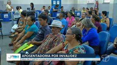 Veja a situação no oeste do Pará após a suspensão de mais de 300 mil auxílios-doença - Governo anunciou suspensão depois que algumas irregularidades foram encontradas.