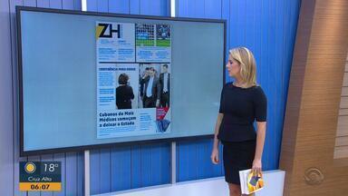 Confira os destaques dos jornais desta quarta-feira (21) - Assista ao vídeo.