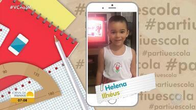 Estudantes mandam vídeos para o quadro #partiuescola - Envie seu vídeo através do e-mail jm@redebahia.com.br