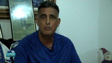 Rommel Correia, ex-jogador do CSA, relembra grandes histórias do time - Ex-jogador bate um papo descontraído com a equipe do Globo Esporte - AL.