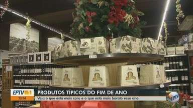 Veja os produtos de Natal que estão mais caros e os que estão mais baratos este ano - Associação Paulista de Supermercados divulgou levantamento dos preços dos itens típicos da data