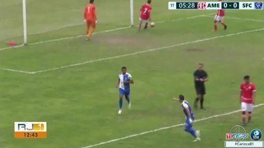 Marcelo Macedo ajudou a salvar Serrano do rebaixamento - Assista a seguir.