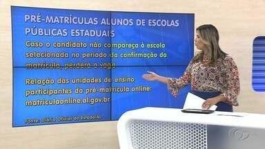 Divulgado calendário de matrícula para Rede Estual de Ensino de Alagoas - Divulgação foi realizada nesta quarta-feira (21), pelo Governo do Estado.
