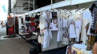 Feira Expor Brasil é realizada na Jatiúca - Variedade de produtos é muito grande.