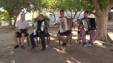 Sanfoneiros do norte baiano se reúnem para homenagear grandes nomes da música nordestina - Símbolo da cultura regional, o acordeon foi a marca registrada de estrelas como Luiz Gonzada, Sivuca e Dominguinhos.