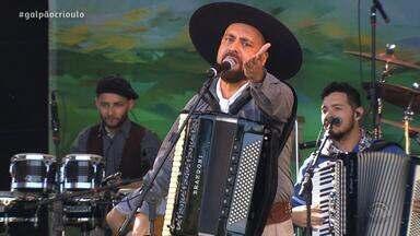 Lincon Ramos faz show no Galpão Crioulo na Festa Nacional da Música (2º bloco) - Assista ao vídeo.
