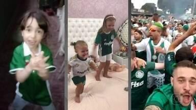 Torcedores enviam vídeos ao Fantástico comemorando o título do Palmeiras - O Fantástico pediu para os palmeirenses enviarem vídeos da festa pelo 10º título do Campeonato Brasileiro.