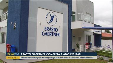 Unidade oncológica do hospital Erasto Gaertner já realizou mais de três mil atendimentos - A unidade completou um ano neste mês.