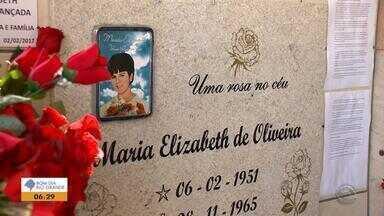 Devotos prestam homenagens a Maria Elizabeth em Passo Fundo - Fiéis do Brasil e do exterior fizeram orações e agradecimentos.