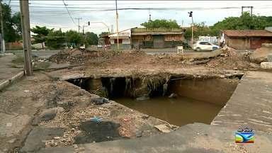 Aumenta o número de chuva no Maranhão - Na região Tocantina tem chovido forte nos últimos dias e a população já enfrenta problemas.