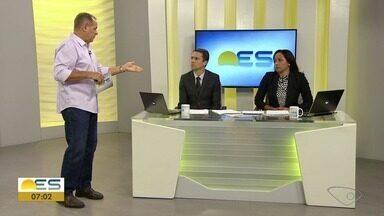 Comentarista do ES traz os destaques do esporte no fim de semana - Paulo Sérgio participou do Bom Dia ES.