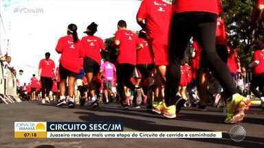Juazeiro recebe mais uma etapa do Circuito Sesc de Caminhada e Corrida - Evento tem apoio do JM e já passou por outras cidades baianas.