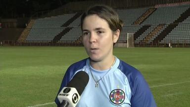 Tigresas empatam contra o América em primeira partida da final do Mineiro Feminino - Mesmo com a pressão das adversárias, a equipe da casa conseguiu empatar o marcador; jogo de volta acontece no domingo.