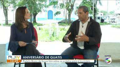 RJTV entrevista prefeito de Quatis - parte II - Prefeito Bruno de Souza fala sobre os projetos para o município.