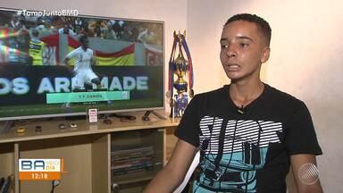 Esporte contribui na recuperação de garoto que estava internado em um hospital de Salvador - Thiago Nunes, de 15 anos, descobriu há um ano a diabetes tipo 1.