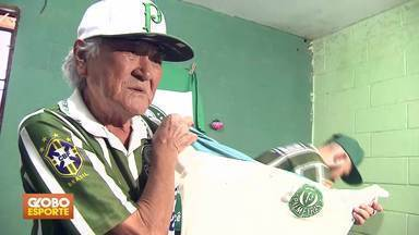 Corneta da rodada - Palmeirense completa 70 anos e comemora aniversário com título.