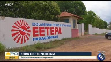 Feira de Tecnologia começa nesta terça-feira (27), em Paragominas - Evento apresenta projetos de estudantes.