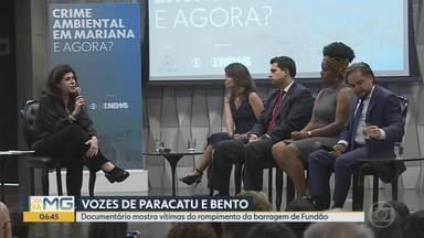 Painel discute tragédia de Mariana em Belo Horizonte - 'Crime Ambiental em Mariana: E agora?' reuniu representantes do poder público e moradores de Bento Rodrigues e Paracatu de Baixo em um evento em Belo Horizonte