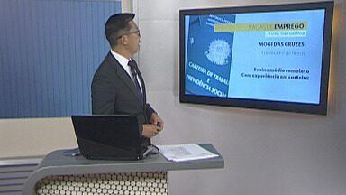 Confira as vagas de emprego no Alto Tietê - No total são mais de 230 vagas em toda a região.